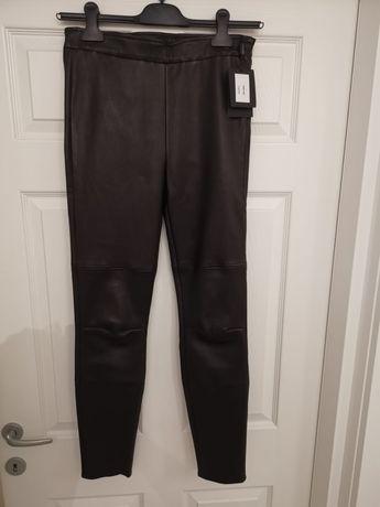 Pantaloni piele naturala