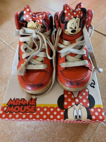 Обувки с Мини Маус 24 н. и ботушки 26 н. + подарък лачени пантофки