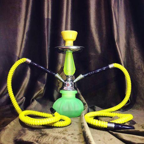 Narghilele PIPE - 28 cm, cu 2 furtunuri, Diverse Culori