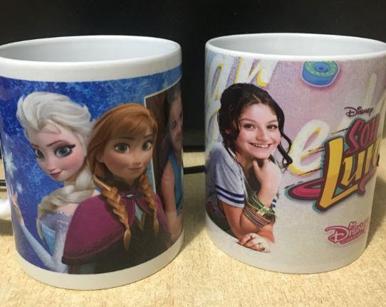 Уникални Детски Чаши Сой Луна Soy luna Frozen! С Ваше Име!