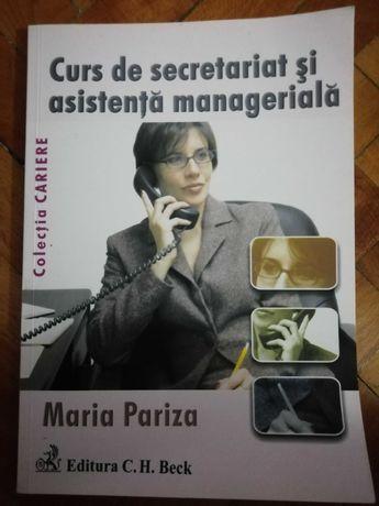 Carte Curs secretariat Maria Pariza ,, NOUĂ,,