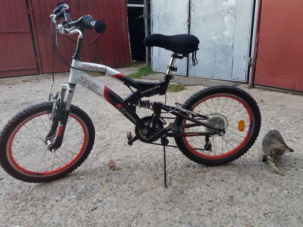 bicicleta dhs matrix full suspension - sistem Shimano