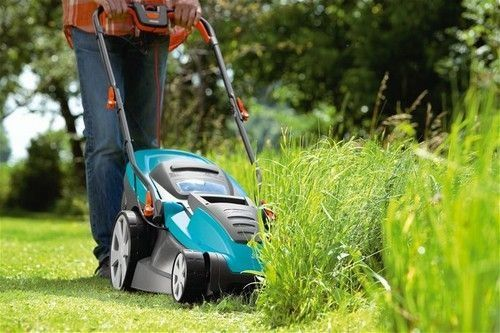 Газонокосилка газон трава триммер