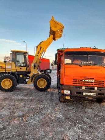 Вывоз снега мусора