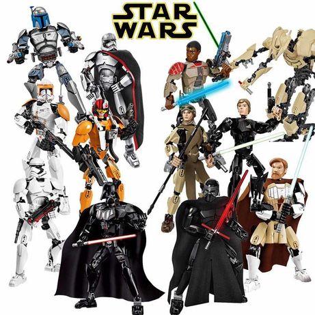 Конструктор аналог Лего star wars lego Звёздные Войны 13 видов