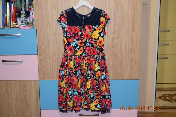 детска рокля 9-10год.