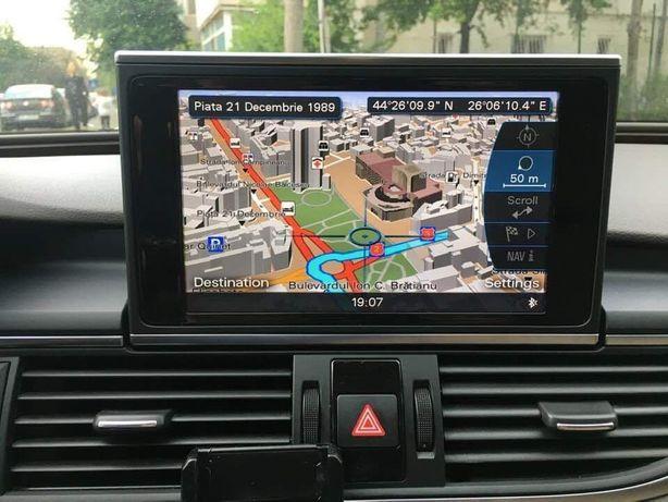 Harti Audi MMI3g ,High,3Gplus,BASIC Limba Romană!!