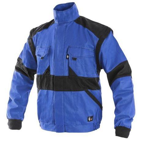 Bluză / vesta de salopetă CXS bumbac albastra marime 46,48,50 Noua