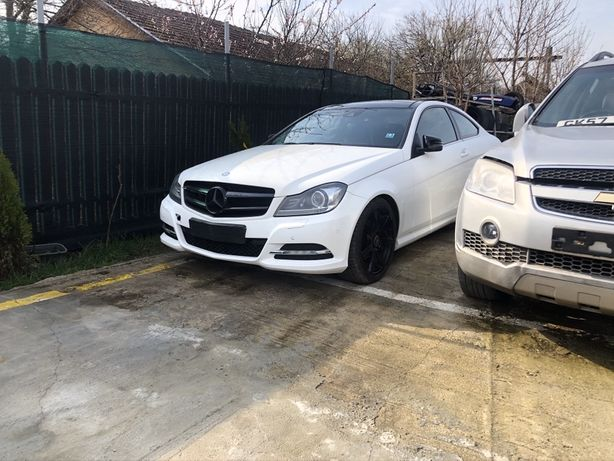 Geam ușă stânga  Mercedes C  class Coupe W 204 / Facelift