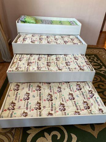 Детская мебель 4в1 детский диван