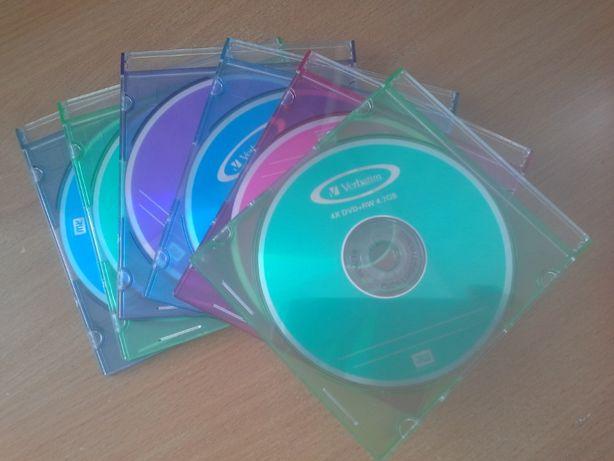 Диски DVD-RW Verbatim 12 см 4.7G