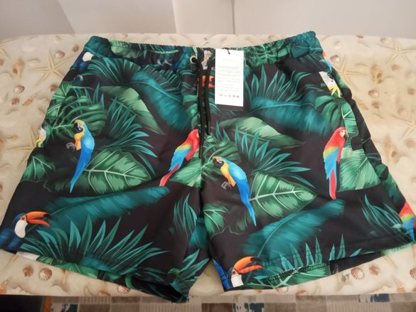 Мъжки къси панталони (бански) Trendyol,Ombre
