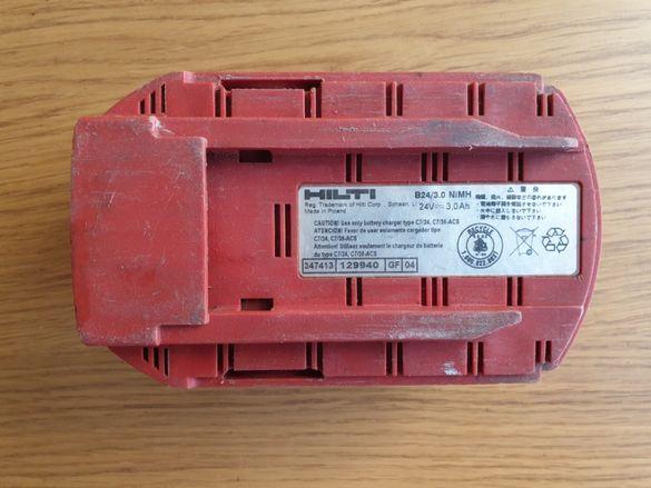 Продавам батерия Hilti B24/3.0Ah NiMH, 24V/3Ah