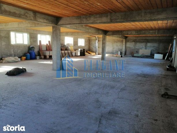 Pretabil brutarie, productie, depozitare! Hala p+1, 600 mp, Albesti