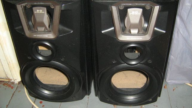 Boxa Bass Akai 30w-Aiwa activ 60 w- Boxe Technics 50w si Acord
