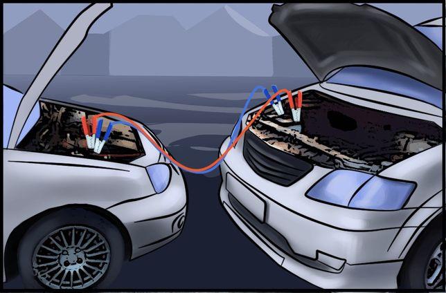 Прикурить авто машину, завести авто , аккумуляторы новые и бу,