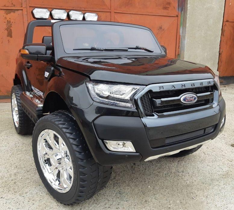 Masinuta electrica pentru 2 Copii Ford Ranger F650 cu Bluetooth #Negru Suceava - imagine 1