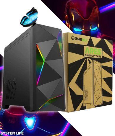 ‼️ Игровой корпус GameMax Ares ‼️ Для Компьютера с Подсветкой Новый
