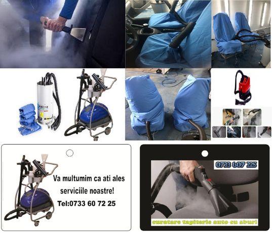 Curatare Tapiterie auto Cu Aspirator cu Aburi Igienizare Auto CU OZON