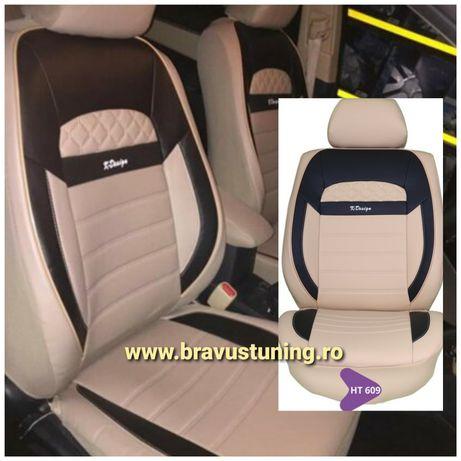 Huse scaun auto Piele Ecologica Audi,BMW,Mercedes,Skoda,Ford,Seat,Vw