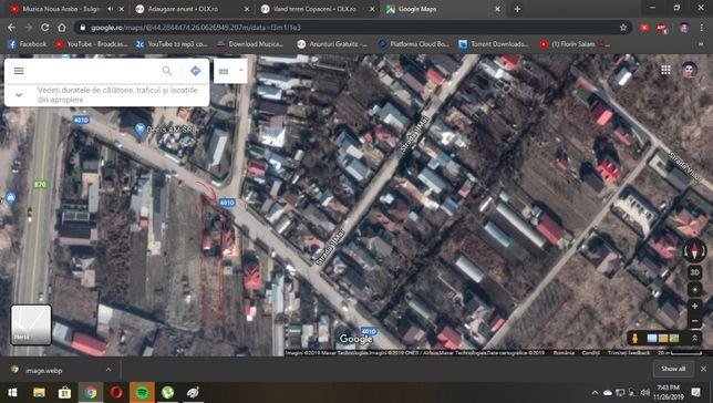 Vand teren in comuna 1 decembrie Ilfov