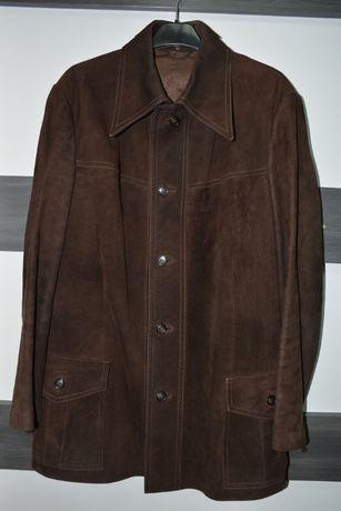 Мъжко кафяво велурено яке