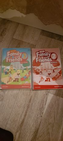 Family and friends 2(class Book) Family and friends 2 (workbook)