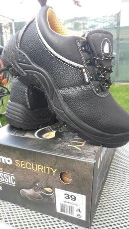 Pantof cu bot metalic