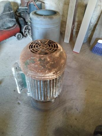 Motor trifazic 6kW cu fulie 4 pozitii