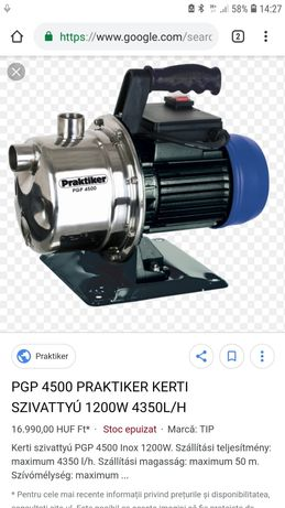 Pompa apa 4500L/H