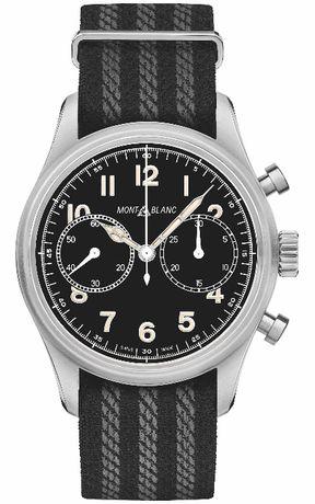 Часовник Montblanc 1858 Automatic Chronograph Black Dial