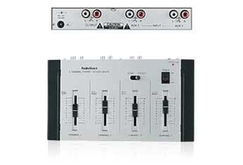 Mixer Microfon stereo 4 canale Radio Shack 32-2056 (NOU)