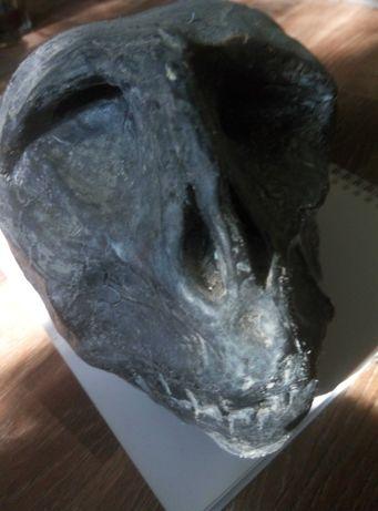 Imitatie de lut - cap mumificat