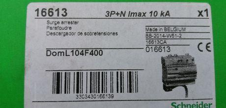 Катоден отводител Schnedier Domae Quick, 275V 3P+N Клас 2 16613