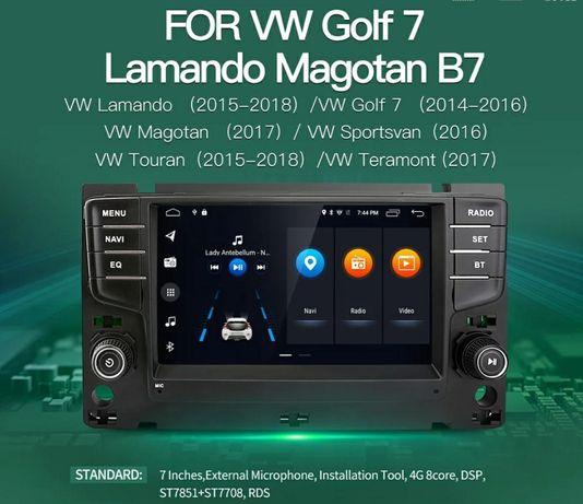 Фолксваген голф 7 Мултимедия андроид multimedia vw golf 7 gps