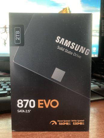 Ssd Samsung 870 EVO 2 TB sata 2,5