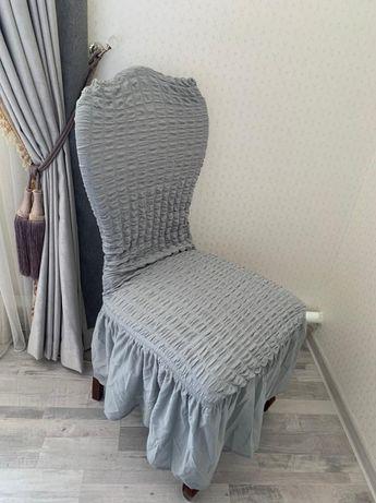 Чехол для стульев 7 штук цена 1200 тг