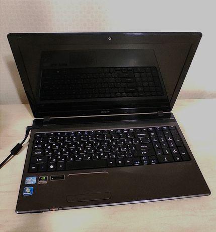 Ноутбук Aser Aspire 5750G