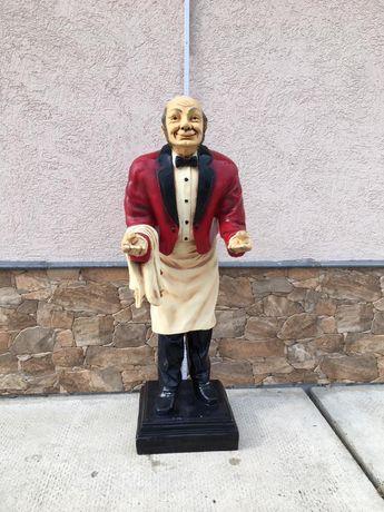 Figurină ospătar pentru restaurant/hotel