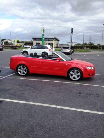 Audi A4 B7 S Line sport convertibil volan dreapta PRET REDUS