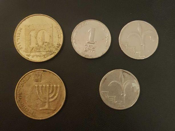 ISRAEL | SET DE MONEDE | 2X 10 agarot, 1 sheqelnou
