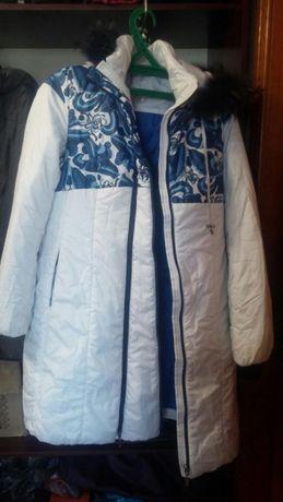 Продам зимнюю куртку для беременных. Длина ниже колен.