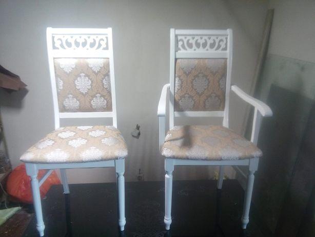 Ремонт стулев, отбивка и покраска стулев