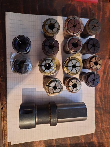 Цангов патроник ф40 със 14цанги комплекта