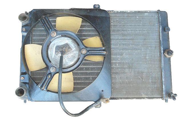 Вентилятор радиатора на ваз 2114