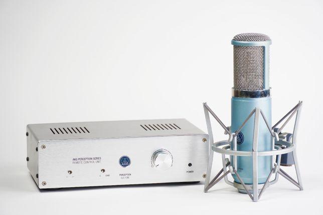 Студийный ламповый микрофон AKG 820 tube