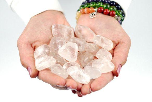 Планински кристал , Полускъпоценен камък планински кристал, Кварц