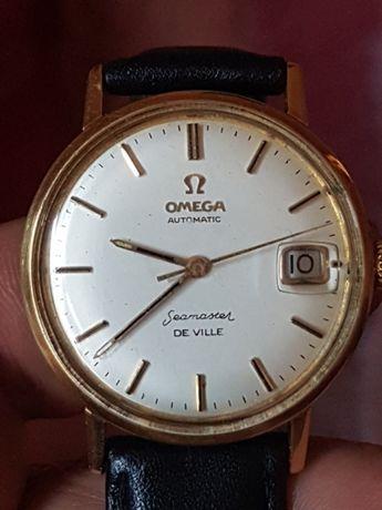 Omega seamaster de ville aur 14k