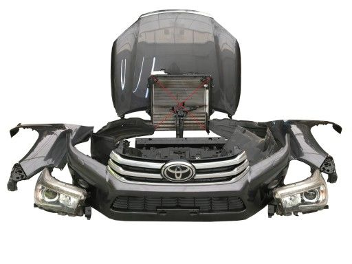 Toyota Hilux de la 2016 in sus