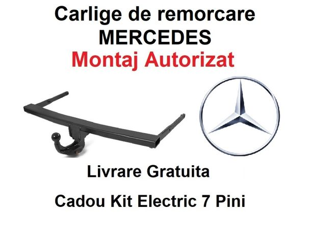 Carlig Remorcare MERCEDES Sprinter 2006-2018 Livrare Gratuita Omologat